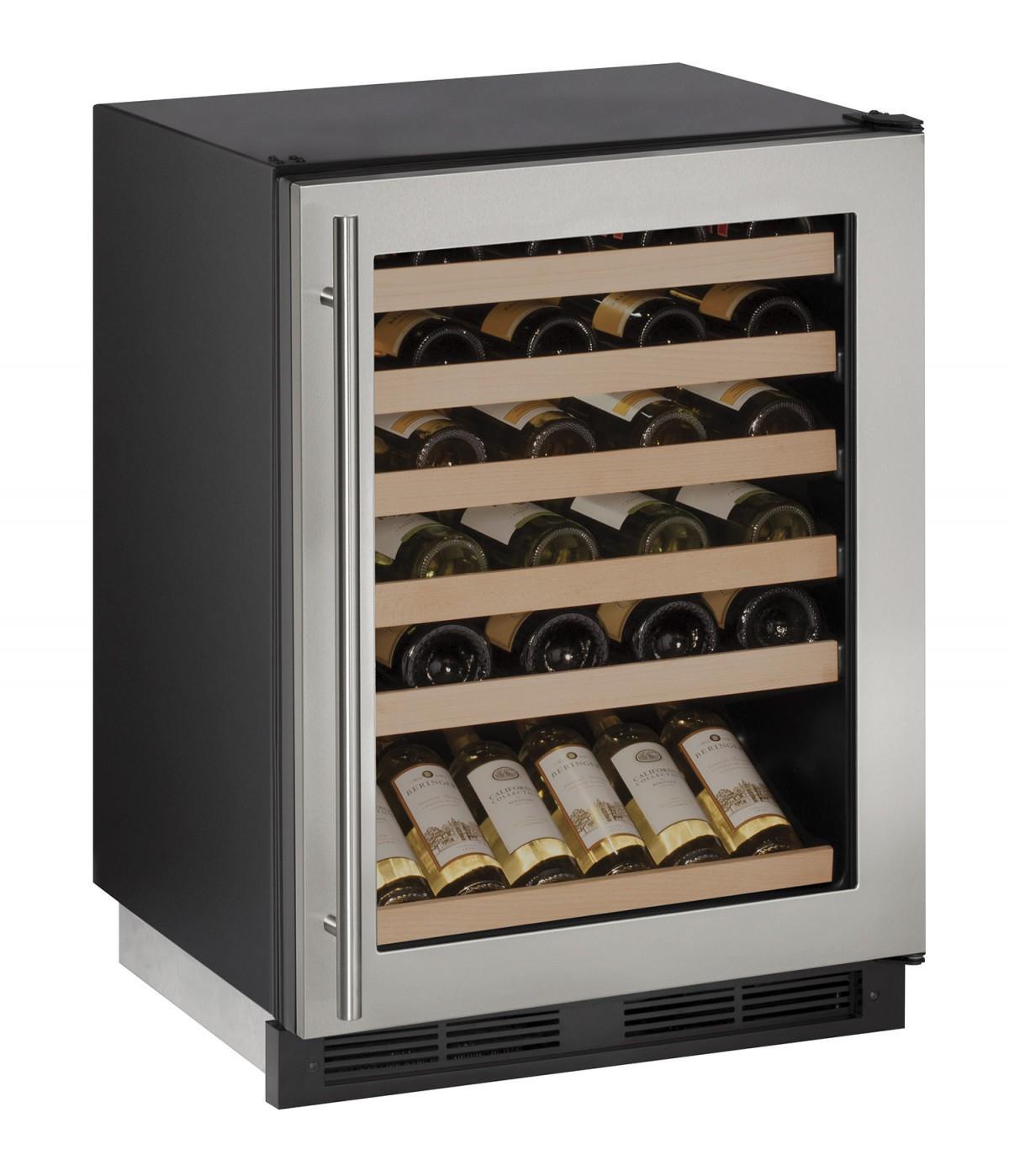 "U-Line Wine Captains 1000 Series 24"""" Wine Captain® - Item Number: U-1224WCS-00A"