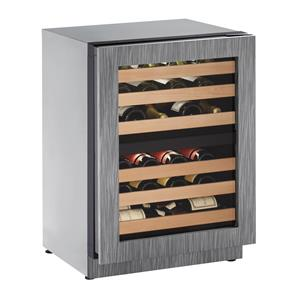 "U-Line Wine Captains - 2014 4.7 Cu. Ft. 24"" Built-in Wine Storage"