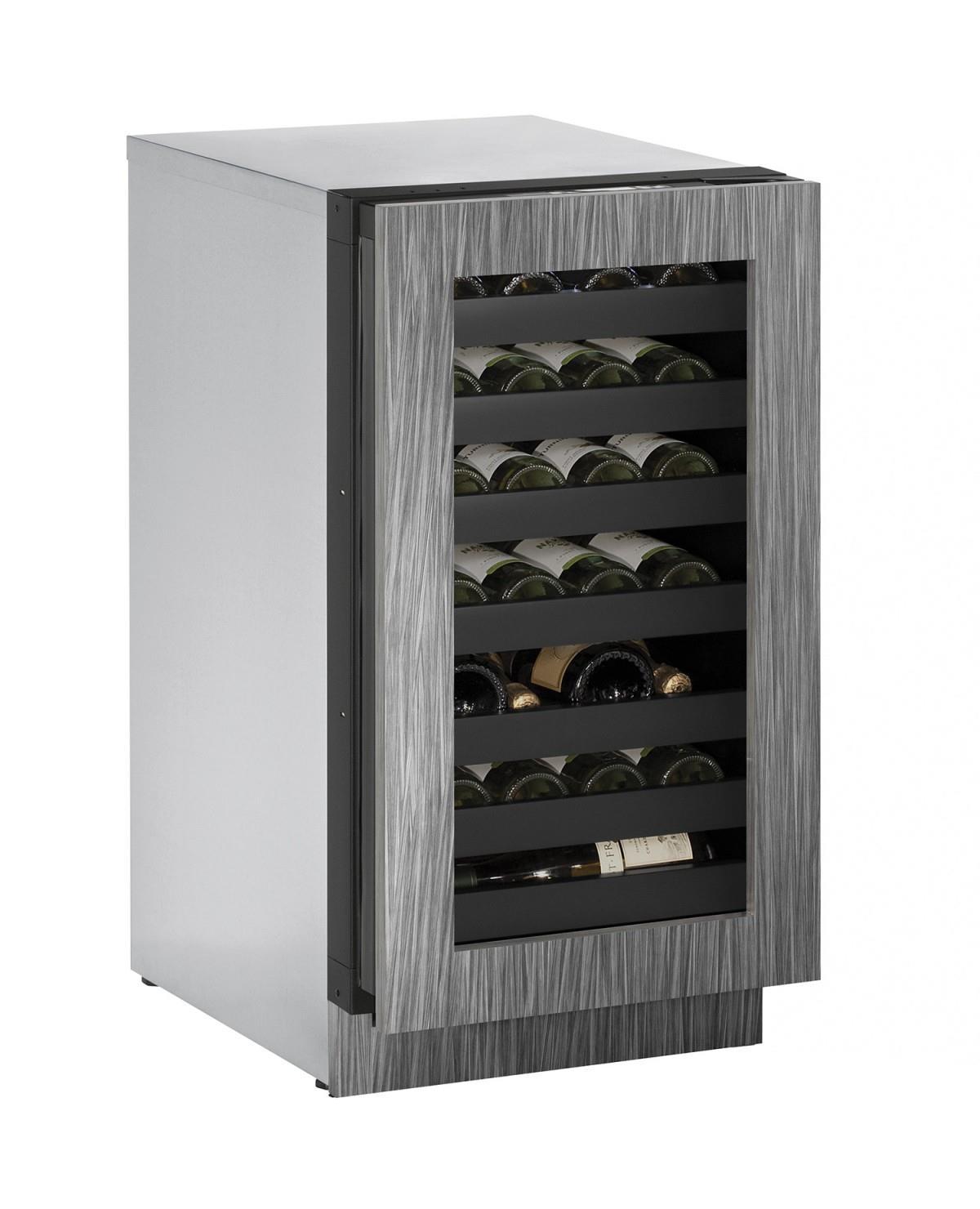 "U-Line Wine Captains 3.6 Cu. Ft. 18"" Built-In Wine Storage - Item Number: U-3018WCINT-01A"