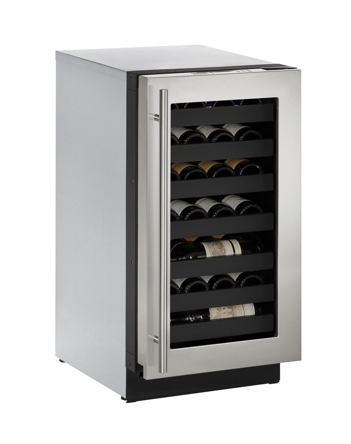 "U-Line Wine Captains 3.6 Cu. Ft. 18"" Built-In Wine Storage - Item Number: U-3018WCS-00A"