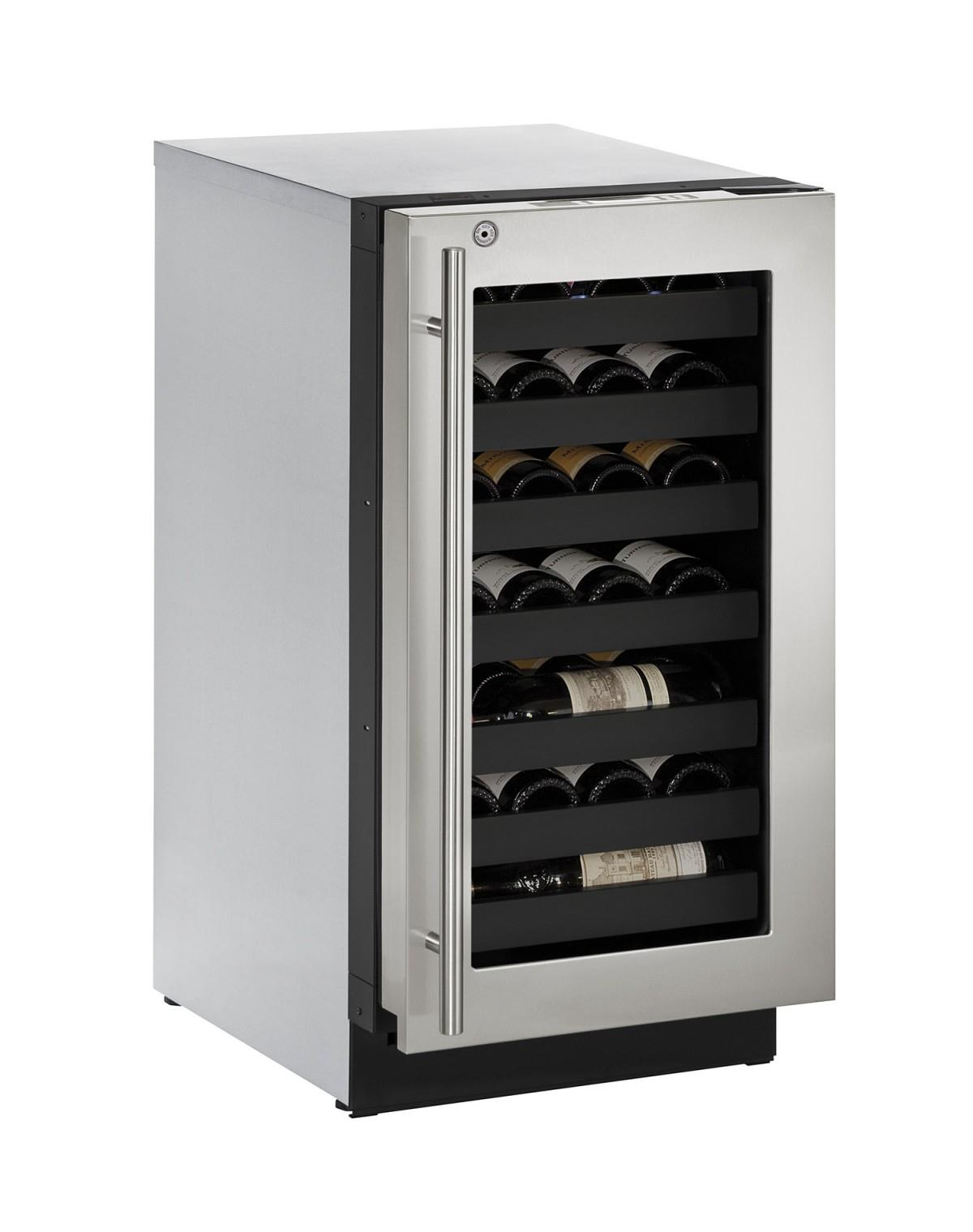 "U-Line Wine Captains 3.6 Cu. Ft. 18"" Built-In Wine Storage - Item Number: U-3018WCS-13A"