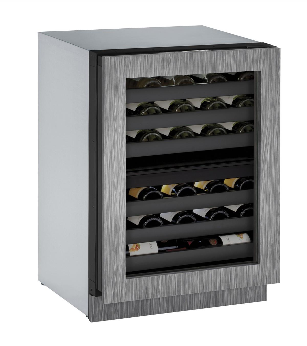 "U-Line Wine Captains 4.7 Cu. Ft. 24"" Built-In Wine Storage - Item Number: U-3024ZWCINT-00A"
