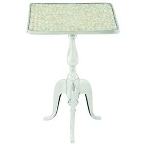 UMA Enterprises, Inc. Accent Furniture Aluminum Accent Table