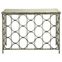 UMA Enterprises, Inc. Accent Furniture Metal/Wood Console Table - Item Number: 18151