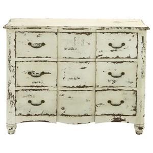 UMA Enterprises, Inc. Accent Furniture Antique White Chest