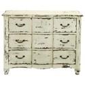 UMA Enterprises, Inc. Accent Furniture Antique White Chest - Item Number: 18174