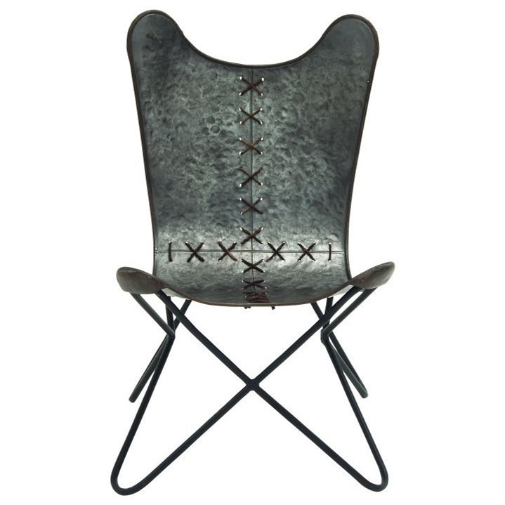 Metal Stitched Chair