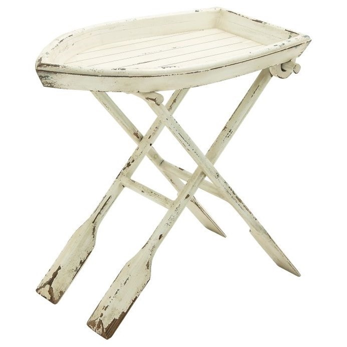 Accent Furniture Wood Folding Table by UMA Enterprises, Inc. at Wilcox Furniture