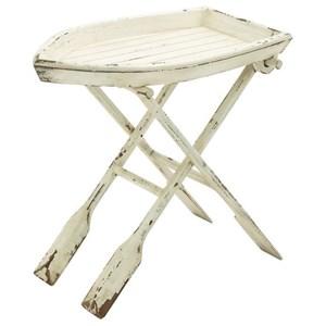 UMA Enterprises, Inc. Accent Furniture Wood Folding Table