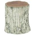UMA Enterprises, Inc. Accent Furniture Teak Aluminum Foot Stool - Item Number: 25746