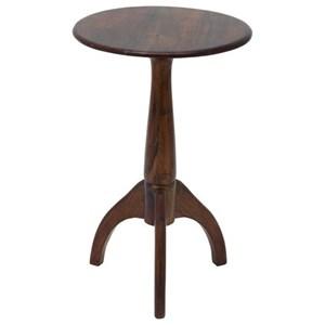UMA Enterprises, Inc. Accent Furniture Wood Round Accent Table