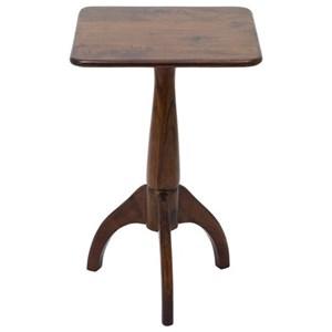 UMA Enterprises, Inc. Accent Furniture Wood Square Accent Table