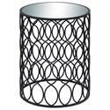 UMA Enterprises, Inc. Accent Furniture Metal/Mirror Accent Table - Item Number: 28971