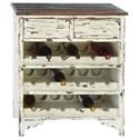 UMA Enterprises, Inc. Accent Furniture Wood Wine Cabinet - Item Number: 35019