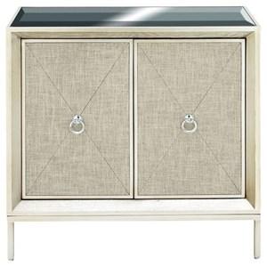 UMA Enterprises, Inc. Accent Furniture Wood/Metal Mirror Cabinet