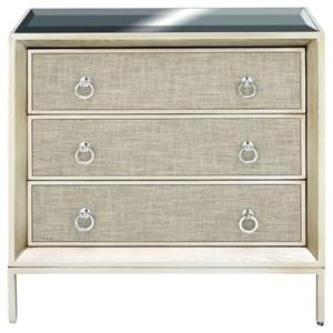 UMA Enterprises, Inc. Accent Furniture Wood/Metal Mirror Chest