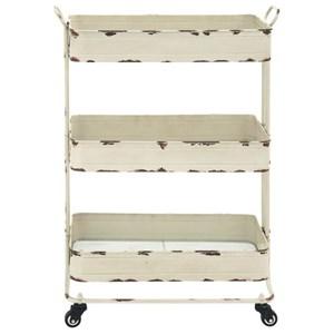 UMA Enterprises, Inc. Accent Furniture Metal 3 Tier Cart