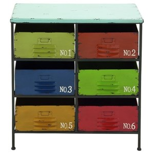 UMA Enterprises, Inc. Accent Furniture Metal/Wood Storage Chest