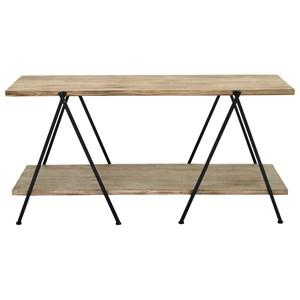 UMA Enterprises, Inc. Accent Furniture Wood/Metal Console Table