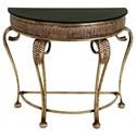 UMA Enterprises, Inc. Accent Furniture Metal Console Table - Item Number: 42773