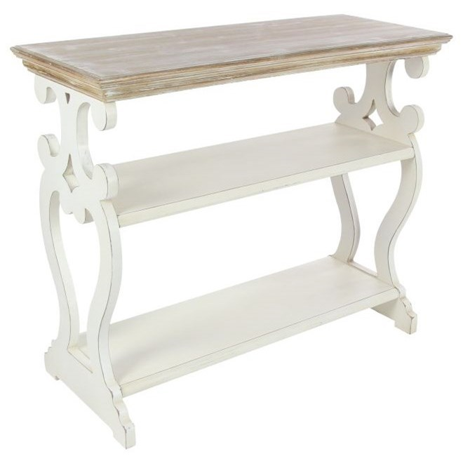 Accent Furniture Wood Console Table by UMA Enterprises, Inc. at Wilcox Furniture