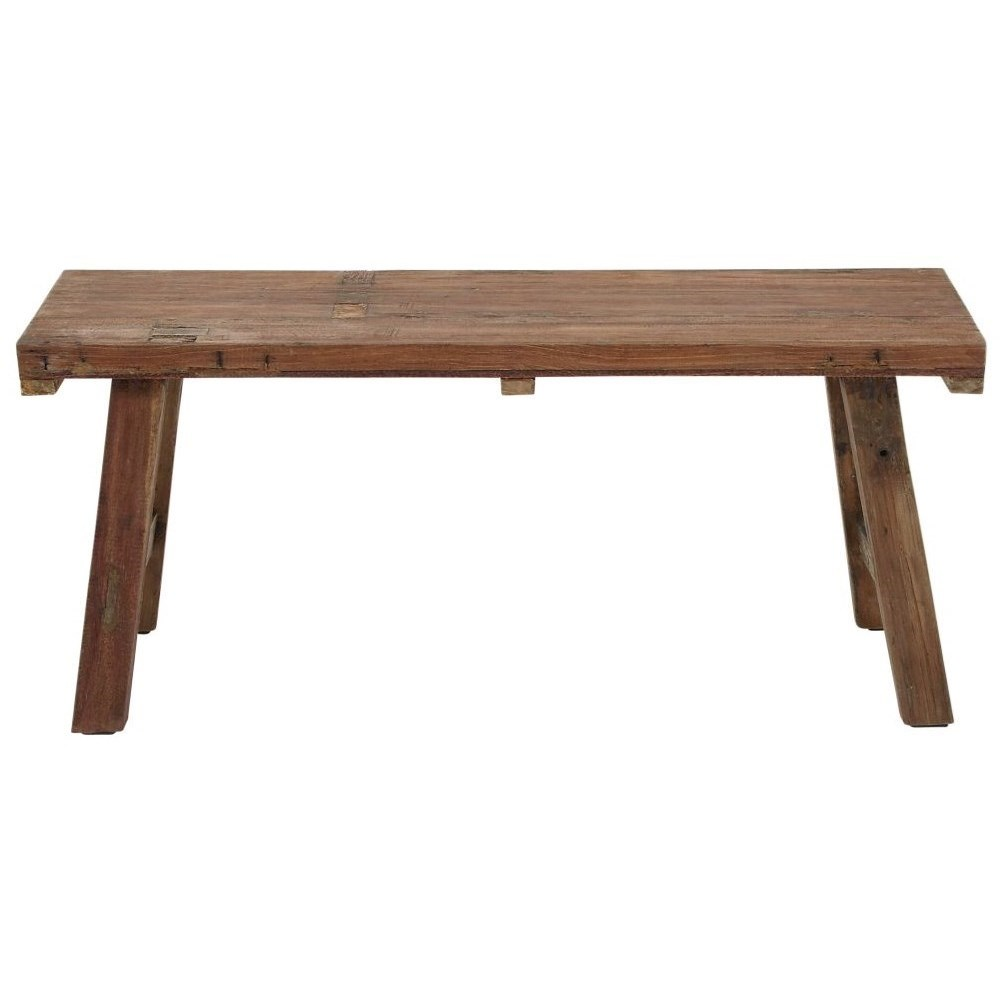 Accent Furniture Wood Bench by UMA Enterprises, Inc. at Wilcox Furniture