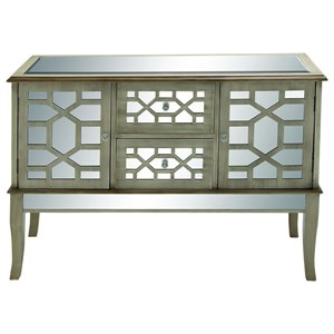 UMA Enterprises, Inc. Accent Furniture Wood/Mirror Buffet