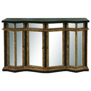 UMA Enterprises, Inc. Accent Furniture Wood/Mirror Buffet Cabinet