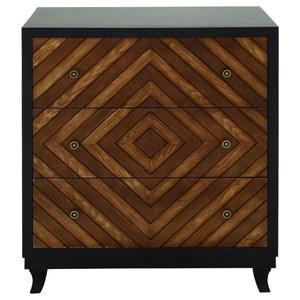 UMA Enterprises, Inc. Accent Furniture 3 Drawer Chest