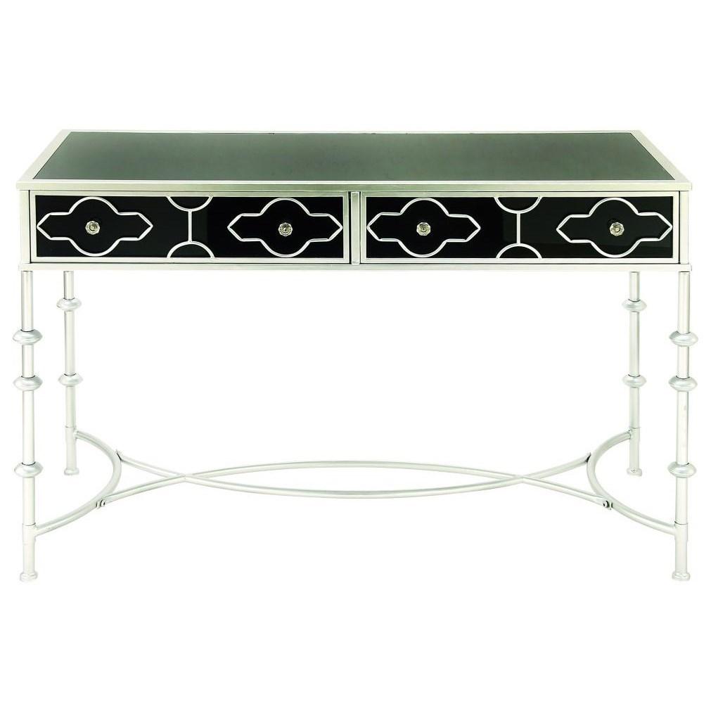 Metal/Glass Vanity Desk