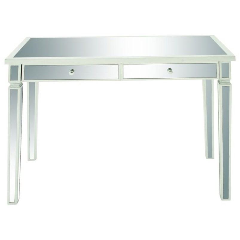Accent Furniture Mirror Vanity Desk by UMA Enterprises, Inc. at Wilcox Furniture
