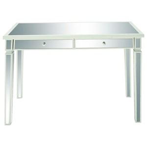UMA Enterprises, Inc. Accent Furniture Mirror Vanity Desk