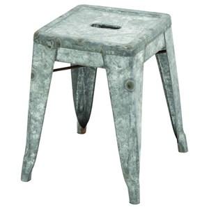 UMA Enterprises, Inc. Accent Furniture Metal Galvanized Stool