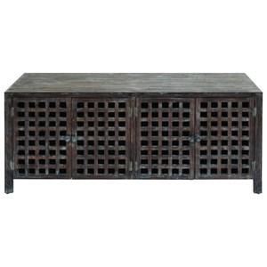 UMA Enterprises, Inc. Accent Furniture Wood Media Stand
