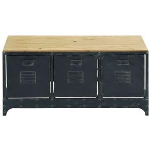 UMA Enterprises, Inc. Accent Furniture Wood/Metal Storage Bench