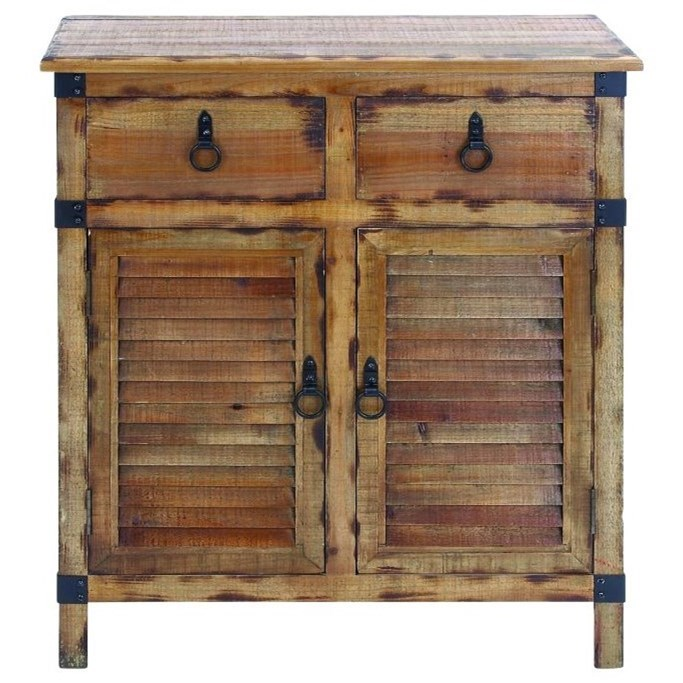 Accent Furniture Wood Cabinet by UMA Enterprises, Inc. at Wilcox Furniture