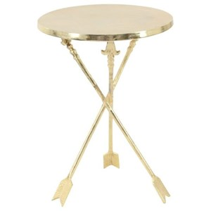 UMA Enterprises, Inc. Accent Furniture Aluminum Tray Table