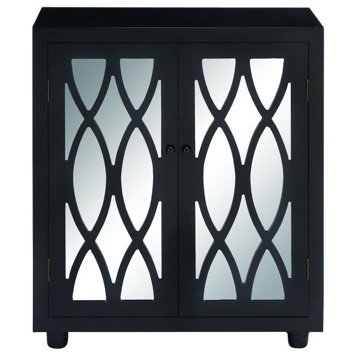 Accent Furniture Mirror Cabinet by UMA Enterprises, Inc. at Wilcox Furniture