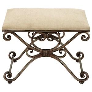 UMA Enterprises, Inc. Accent Furniture Metal Stool