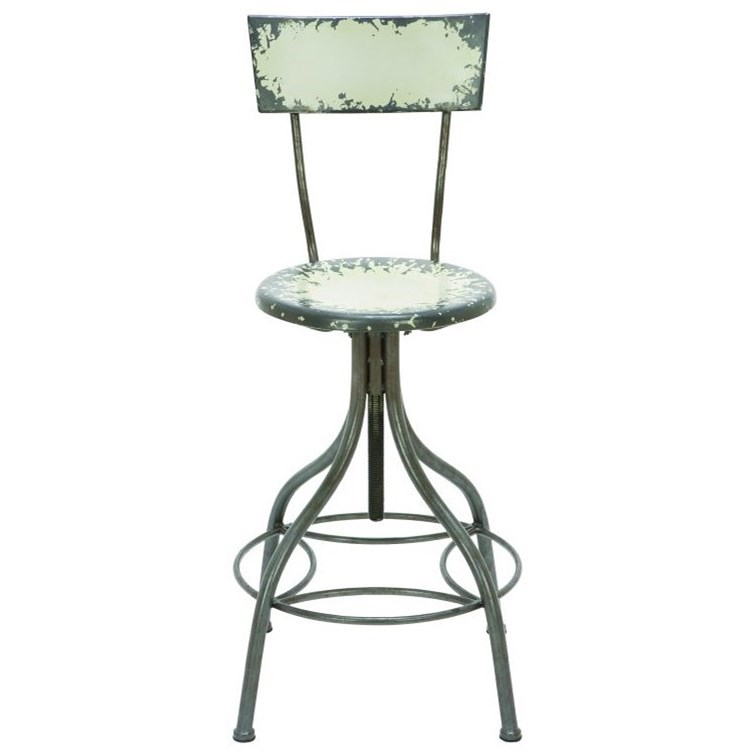 Accent Furniture Metal Bar Chair by UMA Enterprises, Inc. at Wilcox Furniture