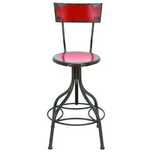 UMA Enterprises, Inc. Accent Furniture Metal Bar Chair