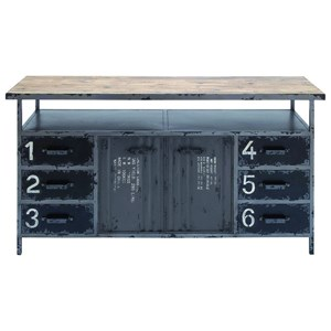 UMA Enterprises, Inc. Accent Furniture Metal/Wood Buffet