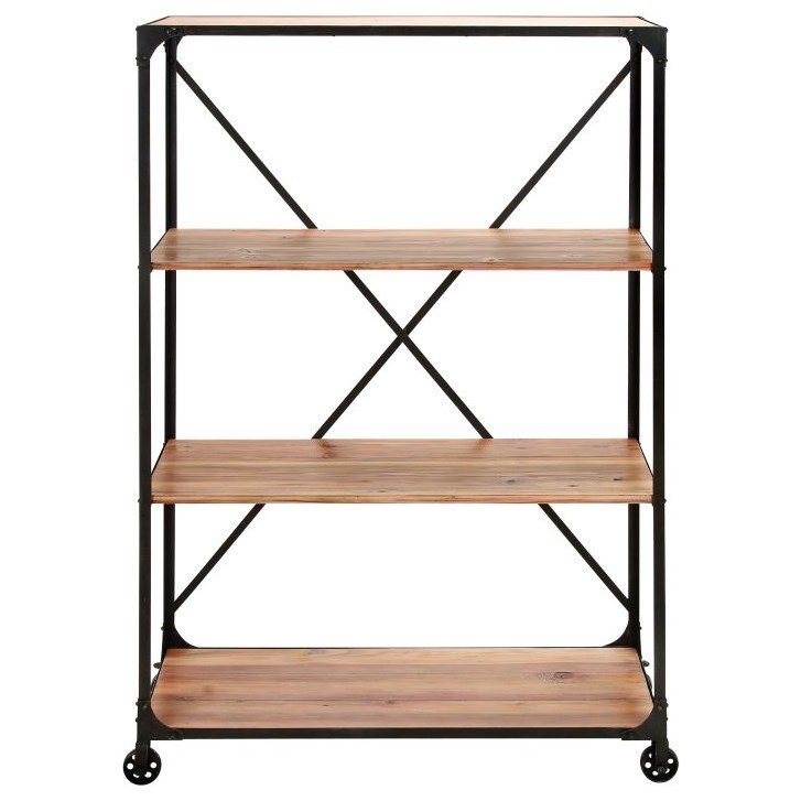 Metal/Wood Shelf