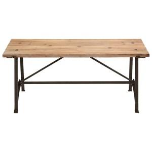UMA Enterprises, Inc. Accent Furniture Metal/Wood Bench