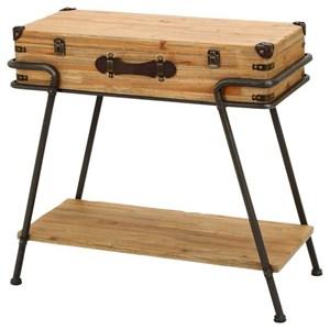 UMA Enterprises, Inc. Accent Furniture Metal/Wood Accent Table