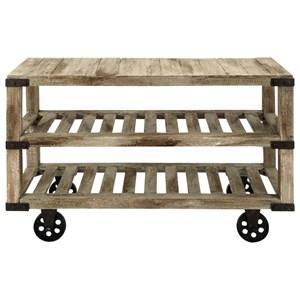 UMA Enterprises, Inc. Accent Furniture Wood/Metal Console Cart