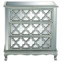 UMA Enterprises, Inc. Accent Furniture Wood Mirror Chest - Item Number: 56617