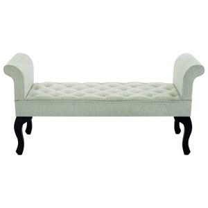UMA Enterprises, Inc. Accent Furniture Fabric Bench