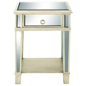 UMA Enterprises, Inc. Accent Furniture Mirror Side Table