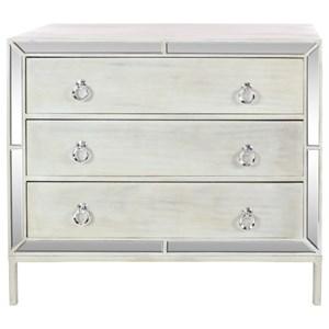 """UMA Enterprises, Inc. Accent Furniture Mirror Chest 35""""W, 32""""H"""